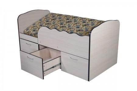 Детская кровать Ульяна с матрасом